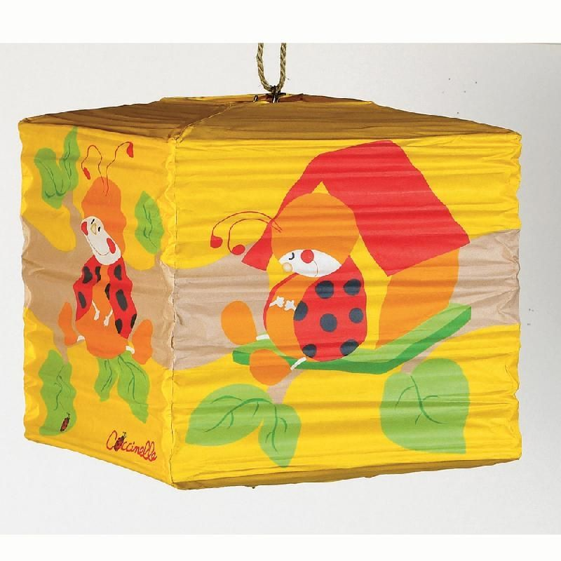 Lampara de techo papel coccinelle de la firma belydom - Lamparas de techo de papel ...